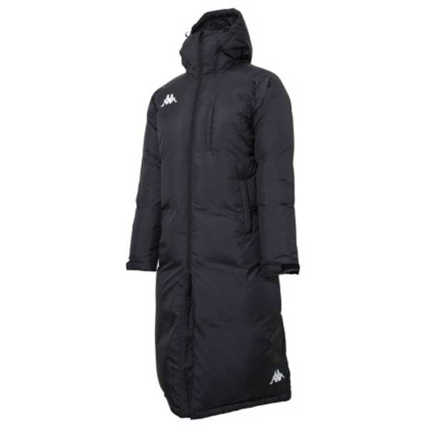 【カッパ】 ULTIMATE ウォーマーロングダウンジャケット [サイズ:M] [カラー:ブラック] #KF852OT11-BK 【スポーツ・アウトドア:サッカー・フットサル:メンズウェア:ジャージ:アウター】【KAPPA】