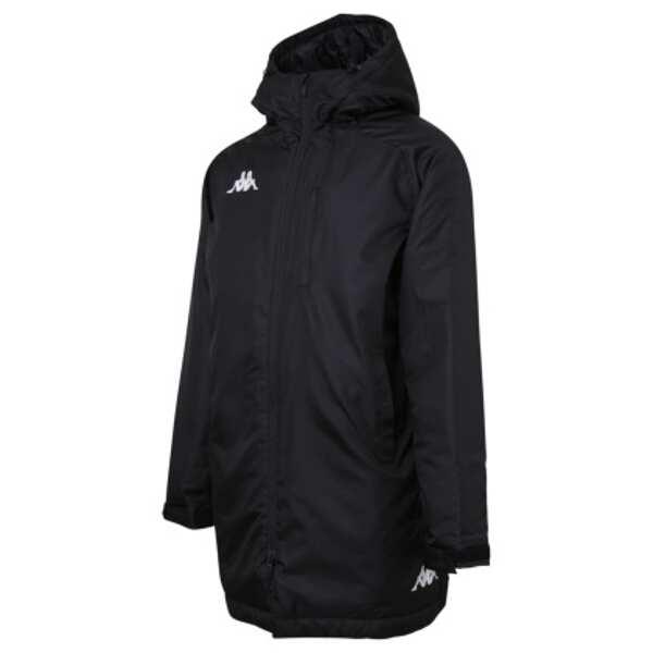 【カッパ】 ULTIMATE ウォーマーミドルジャケット [サイズ:O] [カラー:ブラック] #KF852OT14-BK 【スポーツ・アウトドア:サッカー・フットサル:メンズウェア:ジャージ:アウター】【KAPPA】