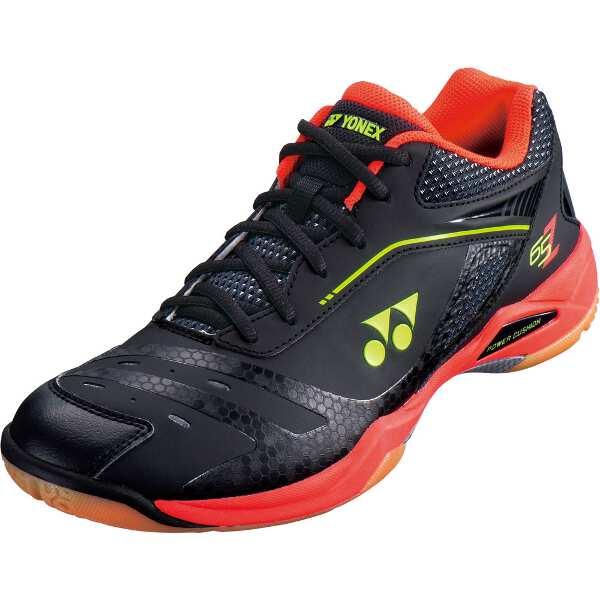 【ヨネックス】 バドミントンシューズ パワークッション 65Z [サイズ:25.0cm] [カラー:ブラック×ライトレッド] #SHB65Z-412 【スポーツ・アウトドア:バドミントン:シューズ:メンズシューズ】【YONEX】