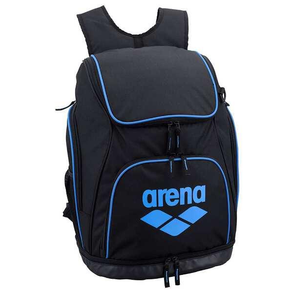 【アリーナ】 リュック [カラー:ブラック×ブルー] [サイズ:35×50×25cm(34L)] #AEANJA01-BKBU 【スポーツ・アウトドア:スポーツウェア・アクセサリー:スポーツバッグ:バックパック・リュック】【ARENA】