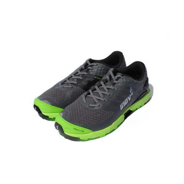 【イノベイト】 トレイルロック 285 MS トレイルランニングシューズ [サイズ:27.5cm] [カラー:グレー×グリーン] #IVT2756M2-GGN 【スポーツ・アウトドア:登山・トレッキング:靴・ブーツ】【INOV-8 TRAILROC 285 MS】