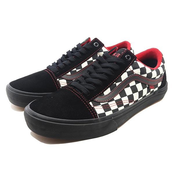 【バンズ】 バンズ オールドスクール プロ BMX (Kevin Peraza) [サイズ:28cm(US10)] [カラー:ブラック×チェッカード] #VN0A45JUVG5 【靴:メンズ靴:スニーカー】【VN0A45JUVG5】【VANS VANS OLD SKOOL PRO BMX】:テレメディア