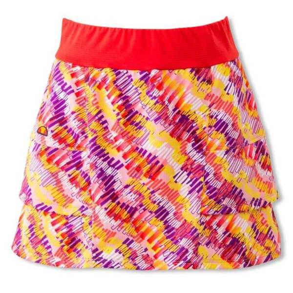 【エレッセ】 ツアースカート(P) レディーステニスウェア [サイズ:M] [カラー:パッションレッドプリント] #EW29101P-PP 【スポーツ・アウトドア:テニス:レディースウェア:スカート・スコート】【ELLESSE Tour Skirt(P)(Womens)】