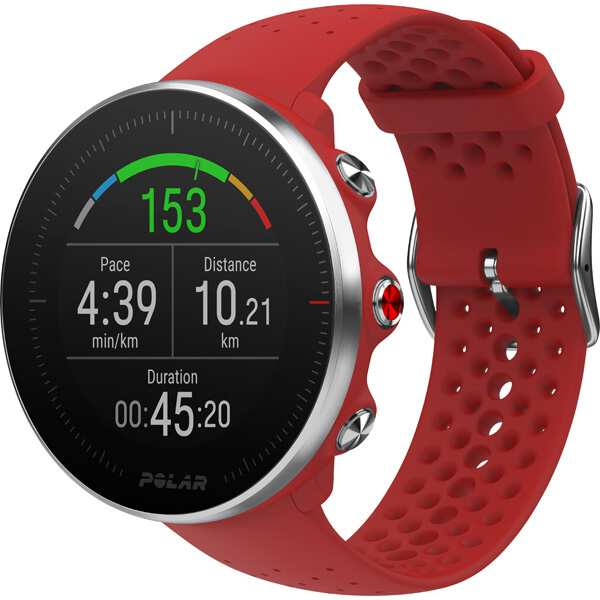 【全品ポイント10倍(要エントリー) 1ヶ月限定】 【送料無料】 Vantage M(ヴァンテージM) 日本正規品 手首心拍計測搭載GPSウォッチ [カラー:レッド] [バンドサイズ:M/L] #90069746 【ポラール: スポーツ・アウトドア ジョギング・マラソン GPS】【POLAR】