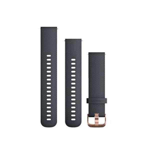 【ガーミン】 Quick Release バンド 20mm ベルト交換キット シリコン [カラー:グラナイトブルーローズゴールド] #010-12561-26 【スポーツ・アウトドア:アウトドア:精密機器類:ウォッチ】【GARMIN Quick Release Bands 20mm GraniteBlueRoseGold】