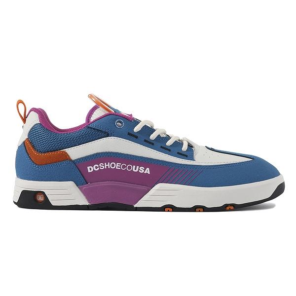 【DC SHOES】 LEGACY 98 SLIM [カラー:ホワイト×ブルー] [サイズ:28cm (US10)] DM191005XBBW 【靴:メンズ靴:スニーカー】【DM191005】