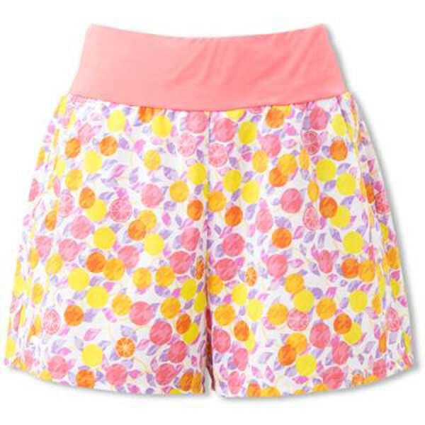 【5%offクーポン(要獲得) 12/26 9:59まで】 ダブルクロスショーツ(P) レディーステニスウェア [サイズ:L] [カラー:ピンクプリント] #EW29111P-PP 【エレッセ: スポーツ・アウトドア テニス レディースウェア】【ELLESSE Double Cloth Shorts(P)(Womens)】