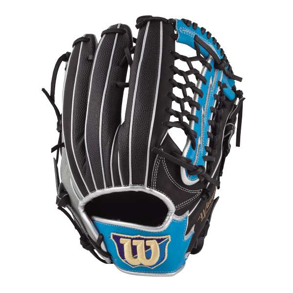 【全品ポイント10倍(要エントリー) 1ヶ月限定】 【送料無料】 (左投げ用)Wannabe HERO DUAL 外野手用 一般軟式野球グラブ [サイズ:12] [カラー:ブラック×Tブルー×グレーSS] #WTARHSD8FR-94GBS 【ウィルソン: スポーツ・アウトドア 野球・ソフトボール】【WILSON】