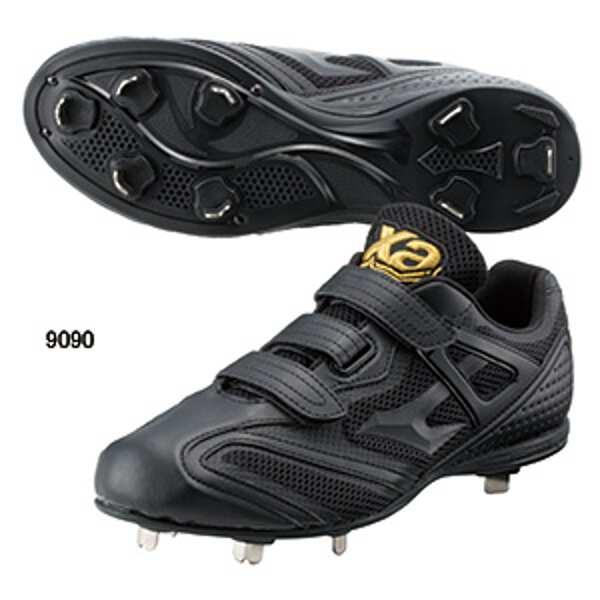 【ザナックス】 トラストCL ベルト式樹脂底野球スパイク [サイズ:27.5cm] [カラー:ブラック×ブラック] #BS-320CL-9090 【スポーツ・アウトドア:野球・ソフトボール:スパイク】【XANAX】