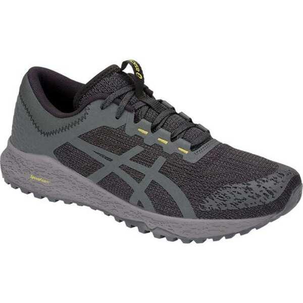【アシックス】 アルパイン XT トレイルランニングシューズ [サイズ:US8H(26.5cm)] [カラー:ブラック×ダークグレー] #T828N-001 【スポーツ・アウトドア:登山・トレッキング:靴・ブーツ】【ASICS ALPINE XT】