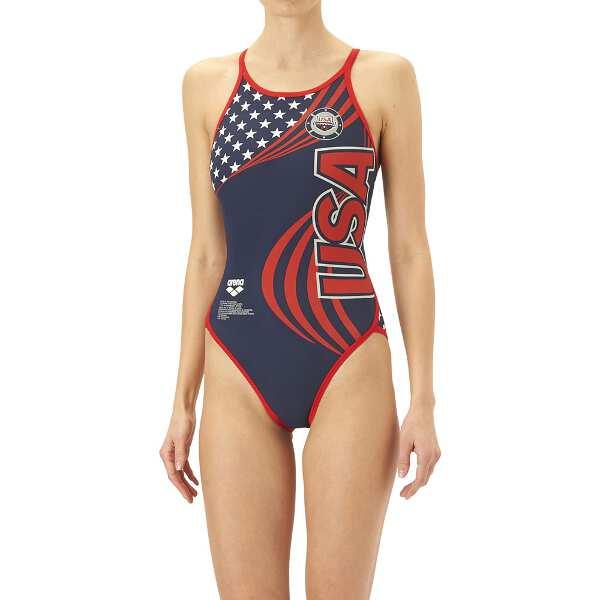 【アリーナ】 TOUGHSUIT スーパーフライバック(限定品) [サイズ:M] [カラー:アメリカ] #FSA-O9630W-USA 【スポーツ・アウトドア:水泳:競技水着:レディース競技水着】【ARENA】