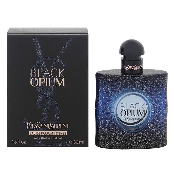 【イブサンローラン】 ブラック オピウム インテンス オーデパルファム・スプレータイプ 50ml 【香水・フレグランス:フルボトル:レディース・女性用】【オピウム】【YVES SAINT LAURENT BLACK OPIUM INTENSE EAU DE PARFUM SPRAY】