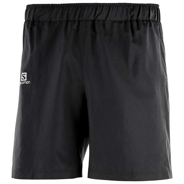 【サロモン】 アジャイル7 ランニングショーツ M(メンズ) [サイズ:L] [カラー:ブラック] #L40118300 【スポーツ・アウトドア:アウトドア:ウェア:メンズウェア:ハーフパンツ・ショートパンツ】【SALOMON】