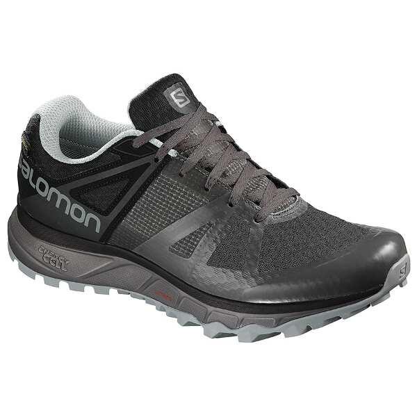 【サロモン】 トレイルスタ― GTX GORE-TEX搭載 [サイズ:28.5cm] [カラー:マグネット×ブラック] #L40488200 【スポーツ・アウトドア:登山・トレッキング:靴・ブーツ】【SALOMON TRAILSTER GTX】