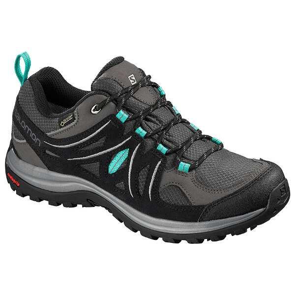 【サロモン】 エリプス 2 GTX W GORE-TEX搭載(レディース) [サイズ:23.0cm] [カラー:マグネット×ブラック] #L40471800 【スポーツ・アウトドア:登山・トレッキング:靴・ブーツ】【SALOMON ELLIPSE 2 GTX W】