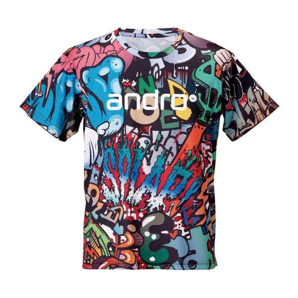 【アンドロ】 フルデザインシャツ B+ [サイズ:S] #302806 【スポーツ・アウトドア:卓球:ウェア:メンズウェア:シャツ】【ANDRO】