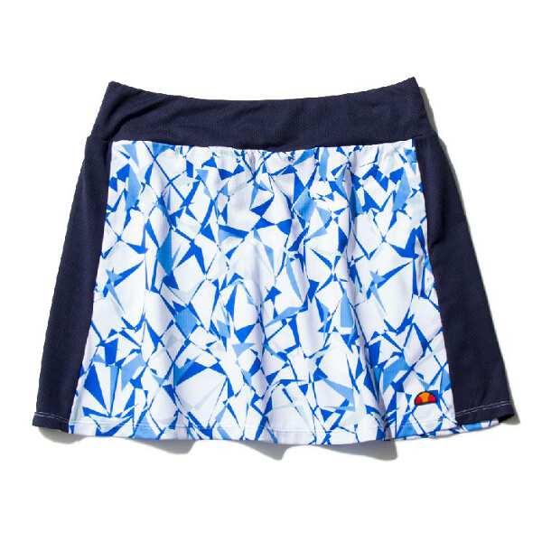 ツアープラススカート(P) [サイズ:M] [カラー:ブループリント] #EW29311P-BP 【エレッセ: スポーツ・アウトドア テニス レディースウェア】【ELLESSE Tour Plus Skirt(P)】
