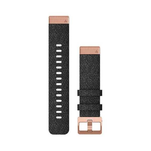 【送料無料】 QuickFitバンド F6 20mm ベルト交換キット [カラー:ブラックナイロンw/ゴールド] #010-12874-01 【ガーミン: スポーツ・アウトドア アウトドア 精密機器類】【GARMIN QuickFit F6 20mm Black Nylon w/Gold】