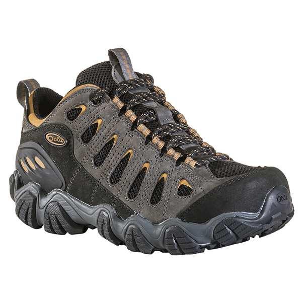 【オボズ】 メンズ ソウトゥース ロ― ビードライ [サイズ:US9(27.0cm)] [カラー:シャドウ×バーラップ] #21401-SHADO 【スポーツ・アウトドア:登山・トレッキング:靴・ブーツ】【OBOZ MENS Sawtooth Low B-DRY】
