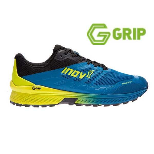 【イノベイト】 トレイルロック G 280 MS トレイルランニングシューズ(グラフェン搭載) [サイズ:26.5cm] [カラー:ブルー×ブラック] #NO2OGG12BB-BBK 【スポーツ・アウトドア:登山・トレッキング:靴・ブーツ】【INOV-8 TRAILROC G 280 MS】