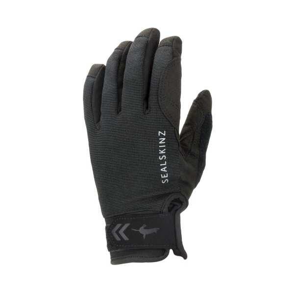 【5%offクーポン(要獲得) 12/26 9:59まで】 Waterproof All Weather Glove(完全防水・防風グローブ) [サイズ:L] [カラー:ブラック] #121072-001 【シールスキンズ: スポーツ・アウトドア アウトドア ウェア】【SEALSKINZ】