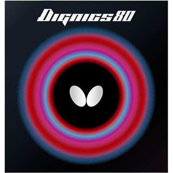 【バタフライ】 ディグニクス80 卓球ラバ― [サイズ:厚] [カラー:レッド] #06050-006 【スポーツ・アウトドア:卓球:卓球用ラバー】【BUTTERFLY】