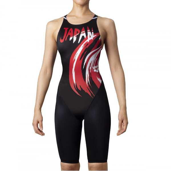 【アリーナ】 X-PYTHON2 ハーフスパッツ クロスバック [サイズ:S] [カラー:JPN(ブラック)] #ARN0040W-JPN 【スポーツ・アウトドア:水泳:競技水着:レディース競技水着】【ARENA】