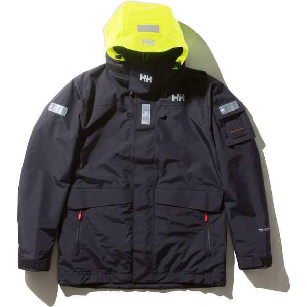 【ヘリーハンセン】 オーシャンフレイジャケット(セーリングジャケット) [サイズ:XL] [カラー:ブラック] #HH11990-K 【スポーツ・アウトドア:その他雑貨】【HELLY HANSEN Ocean Frey Jacket】