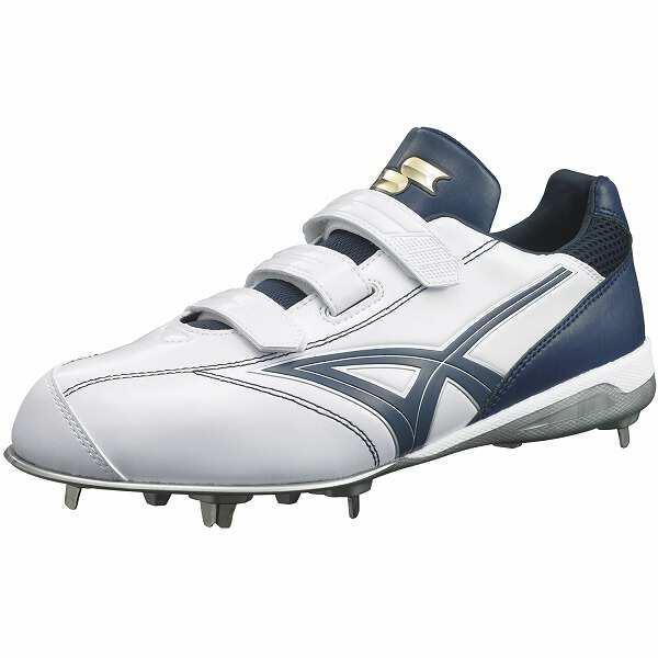 【エスエスケイ】 グローロード TT-VC 野球スパイク [サイズ:27.0cm] [カラー:ホワイト×ネイビー] #SSF3006-1070 【スポーツ・アウトドア:野球・ソフトボール:スパイク】【SSK】