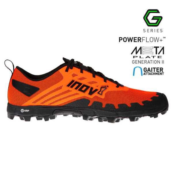 【イノベイト】 X-タロン G 235 MS トレイルランニングシューズ(グラフェン搭載) [サイズ:26.0cm] [カラー:オレンジ×ブラック] #NO2PGG04OB-OBK 【スポーツ・アウトドア:登山・トレッキング:靴・ブーツ】【INOV-8 X-TALON G 235 MS】