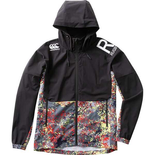 【カンタベリ―】 ストレッチパフォーマンスフーディ(メンズ) [サイズ:XL] [カラー:ブラック] #RP79035P-19 【スポーツ・アウトドア:ラグビー:ウェア】【CANTERBURY STRETCH PERFORMANCE HOODY】