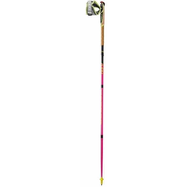 【レキ】 マイクロトレイルプロ トレイルランニングポール [サイズ:120cm] [カラー:ピンク] #1300396-227 2本組 【スポーツ・アウトドア:登山・トレッキング:トレッキングポール】【LEKI】