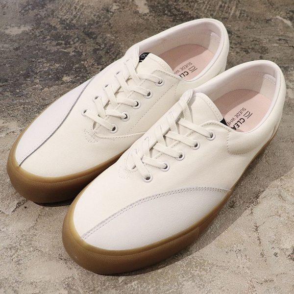 【5%off+最大3000円offクーポン(要獲得) 6/12 9:59まで】 【送料無料】 DONNY [サイズ:27.5cm(US9.5)] [カラー:WHITE GUM] #CM0150019 【クリアウェザー: 靴 メンズ靴 スニーカー】【CLEAR WEATHER】