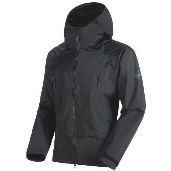 【マムート】 ポルドイ HS フーデッド ジャケット(メンズ) [サイズ:L] [カラー:ブラック] #101026760-0001 【スポーツ・アウトドア:その他雑貨】【MAMMUT Pordoi HS Hooded Jacket Men】