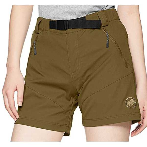 【マムート】 トレッカーズ ショーツ(レディース) [サイズ:S] [カラー:オリーブ] #102011860-4072 【スポーツ・アウトドア:その他雑貨】【MAMMUT TREKKERS Shorts Women】