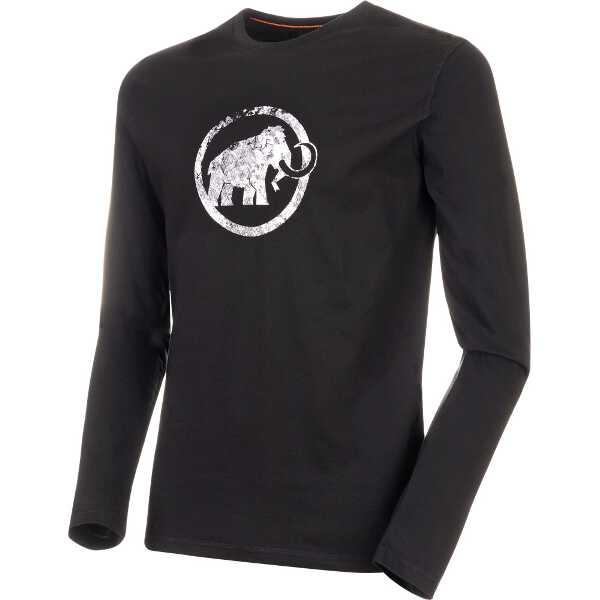 【マムート】 ロゴ ロングスリーブ(メンズ) [サイズ:XL] [カラー:ブラック] #101600530-0001 【スポーツ・アウトドア:その他雑貨】【MAMMUT Logo Longsleeve Men】