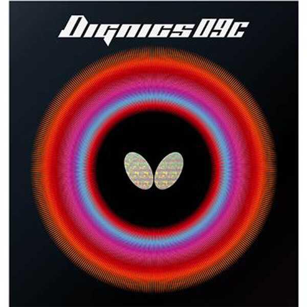 【バタフライ】 ディグニクス09C 卓球ラバ― [サイズ:厚] [カラー:ブラック] #06070-278 【スポーツ・アウトドア:卓球:卓球用ラバー】【BUTTERFLY】