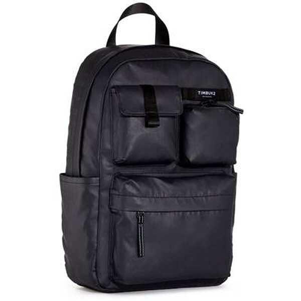【ティンバック2】 ミニランブルパック カーボンコーテッド [カラー:ジェットブラック] [容量:約14L] #181336114 【スポーツ・アウトドア:アウトドア:バッグ:バックパック・リュック】【TIMBUK2 Mini Ramble Pack Cabon Coated OS】