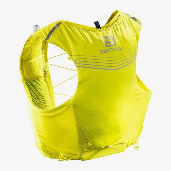 【サロモン】 ADV SKIN 5 SET トレランバックパック [サイズ:XL] [カラー:サルファースプリング×シトローネル] #LC1089500 【スポーツ・アウトドア:その他雑貨】【SALOMON ADV SKIN 5 SET】