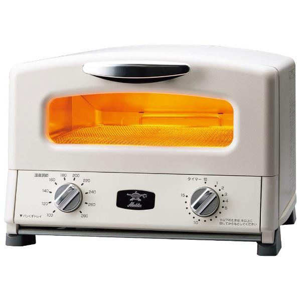 送料無料 日本エー アイ シー アラジン グラファイト グリル トースター 4枚焼き ホワイト AGT-G13A W 9:59まで 8 オーブン キッチン家電 卓抜 4000円offなどクーポン発行中 26 JAPAN 電子レンジ AIC キッチン用品 シー: