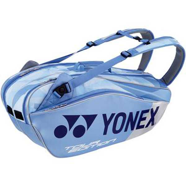 【ヨネックス】 ラケットバッグ6(リュック付) テニスラケット6本用 [カラー:クリアーブルー] #BAG1802R-525 【スポーツ・アウトドア:その他雑貨】【YONEX】