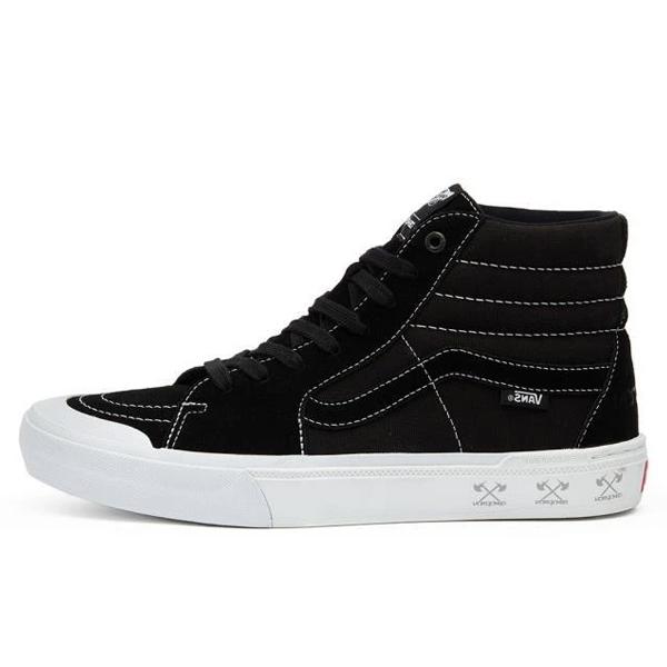 【バンズ】 バンズ スケート ハイ プロ BMX (Demolition) [サイズ:28cm(US10)] [カラー:ブラック×ホワイト] #VN0A45JV12I 【靴:メンズ靴:スニーカー】【VN0A45JV12I】【VANS VANS Sk8-Hi Pro Bmx】