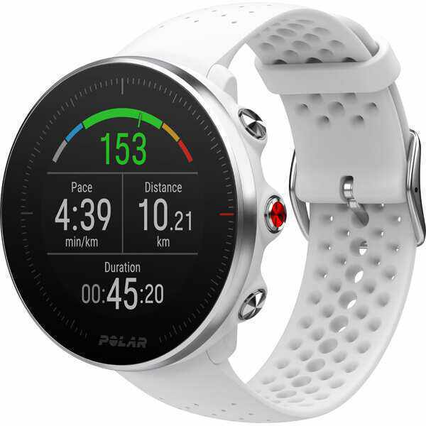 【送料無料】 Vantage M(ヴァンテージM) 手首心拍計測搭載GPSウォッチ ジョギング・マラソン [カラー:ホワイト] スポーツ・アウトドア #90069744 【ポラール: [バンドサイズ:S/M] 【4000円offなどクーポン発行中 9:59まで】 GPS】【POLAR】 日本正規品 4/22