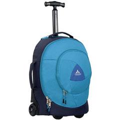 【ファウデ】 ゴンゾ26 ジュニア用ホイールバッグ キャリーバッグ [カラー:マリーン×ブルー] [容量:26L] #10880-3420 【スポーツ・アウトドア:アウトドア:バッグ】【VAUDE】