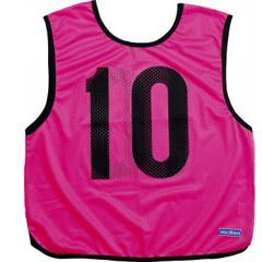 【モルテン】 ゲームベスト 10枚組 No.1~10 [カラー:蛍光ピンク] #GB0113PK 【スポーツ・アウトドア:スポーツウェア・アクセサリー:ビブス・ゼッケン】【MOLTEN】