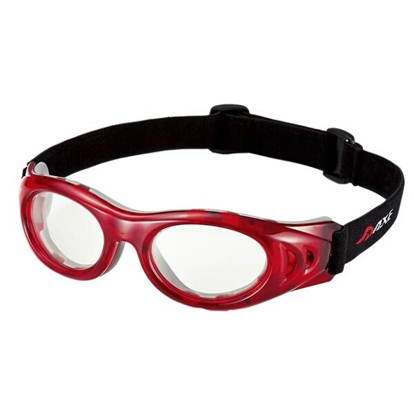 【アックス】 アイプロテクタ― Mサイズ 保護メガネ [カラー:レッド×クリア] #AEP-01 【スポーツ・アウトドア:その他雑貨】【AXE】