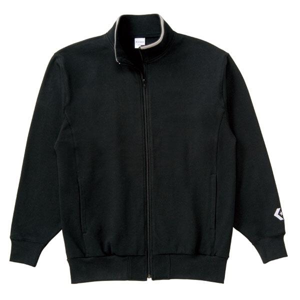 【コンバース】 フルジッパースウェットジャケット [カラー:ブラック] [サイズ:M] #CB141203-1900 【スポーツ・アウトドア:その他雑貨】【CONVERSE】