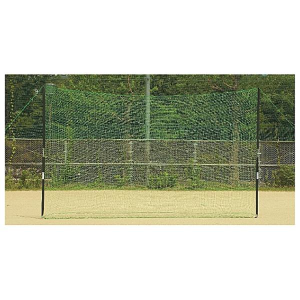 【ゼット】 野球用具 バックネット(ポール付き) [サイズ:7×3m] #BM9037 【スポーツ・アウトドア:野球・ソフトボール:設備・備品:防球ネット】【ZETT】