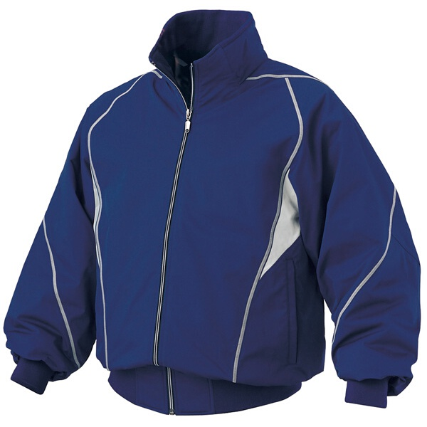 【デサント】 野球用 グラウンドコート DR-208 [カラー:ロイヤルブルー×シルバー] [サイズ:S] #DR-208 【スポーツ・アウトドア:野球・ソフトボール:ウェア:グランドコート】【DESCENTE】