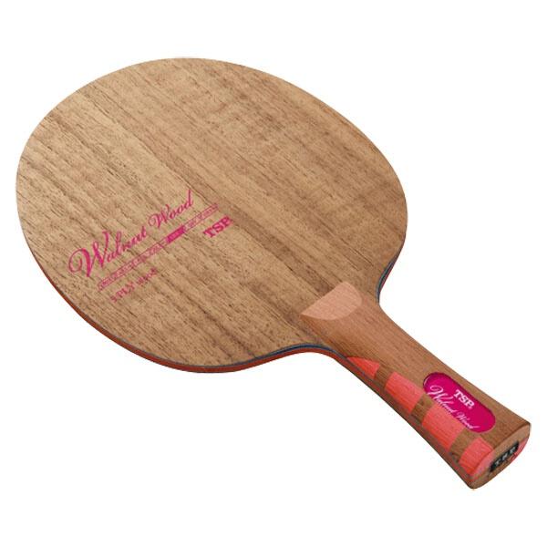 【ティーエスピ―】 卓球ラケット ウォルナット ウッド FL #026524 【スポーツ・アウトドア:卓球:ラケット】【TSP】
